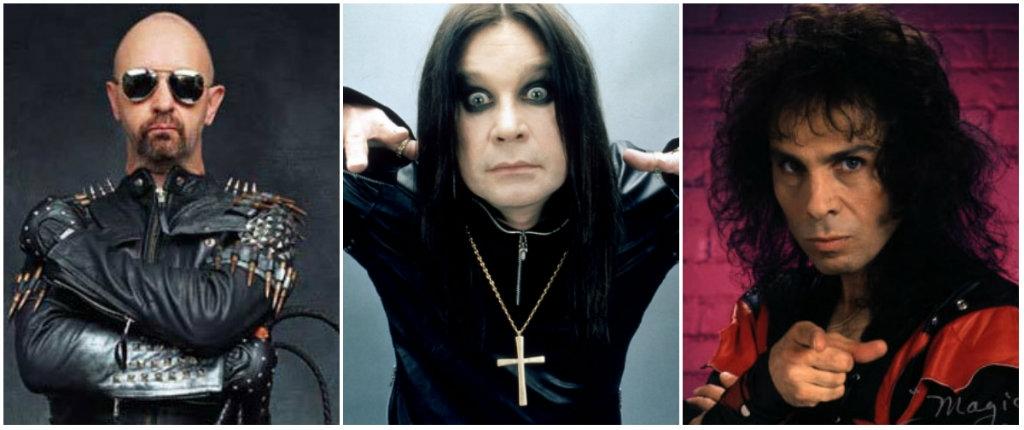Metal Gods: Rob Halford of Judas Priest fronts Black Sabbath in 1992