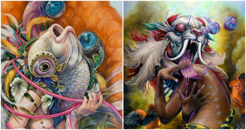 Fish heads & the feminine form: The dazzling candy-colored art of Hannah Yata