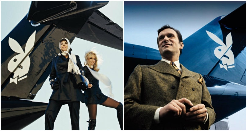 Climb aboard 'Hare-Force One,' Hugh Hefner's $5 million DC-9 jet with its own discothèque