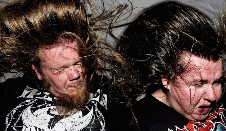 Delightful photos of heavy metal fans, captured in mid-headbang