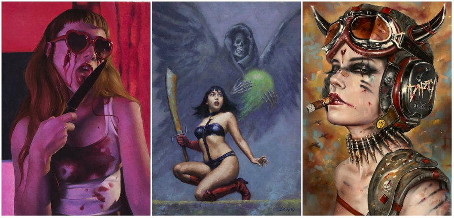 Artists pay homage to the legendary artwork of Heavy Metal magazine