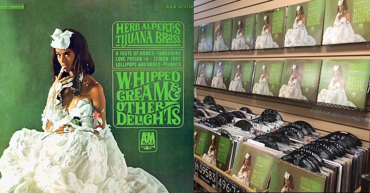 Every crate digger's nightmare: Record store has 'Whipped Cream and Other Delights' and nothing else