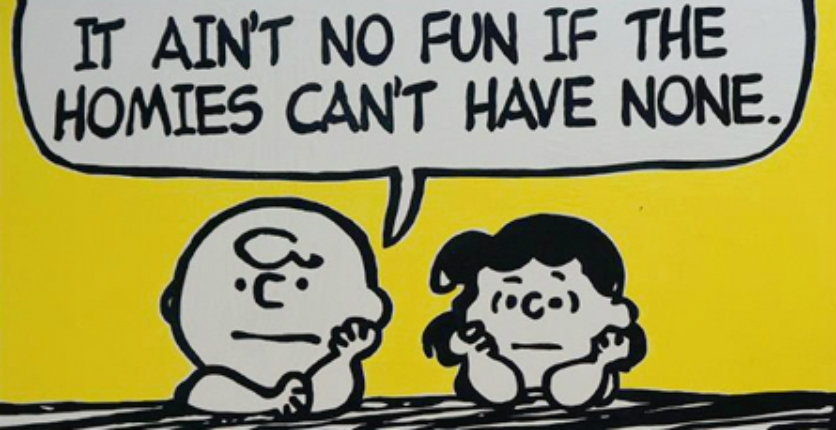 'How you like me now?': Charlie Brown & the Peanuts gang quote Wu-Tang Clan, Snoop & more