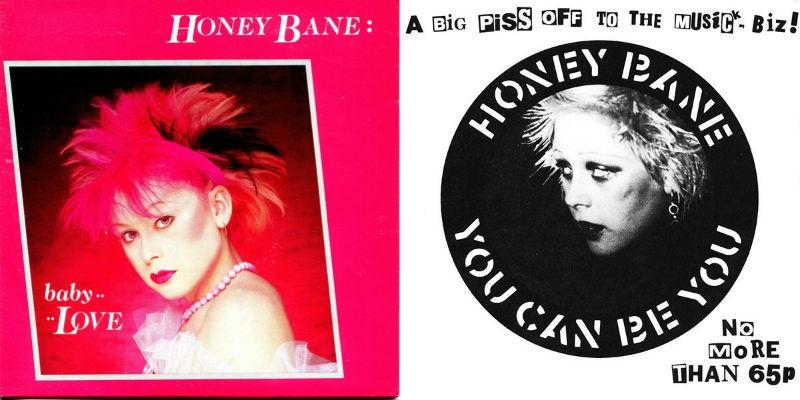 Honey Bane, the teenaged punk wild child who sang with Crass and Killing Joke