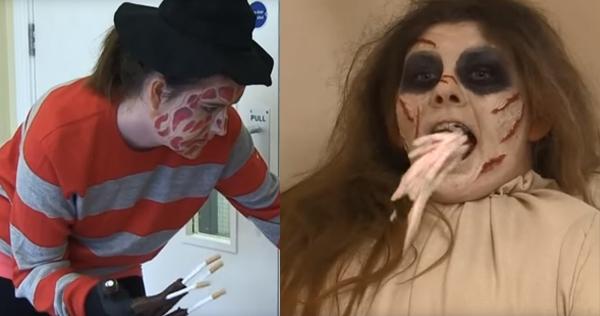 Unintentionally hilarious horror movie-themed anti-smoking PSA