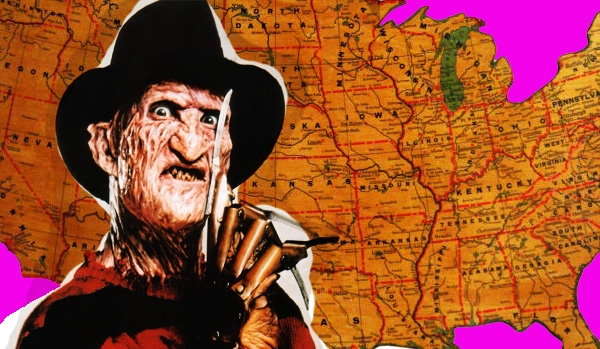 Bloody Geography: Horror maps that detail what fright flicks were set in your home state
