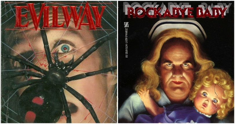 Murder, death, KILL! Vintage horror pulp novels from the 60s, 70s, 80s and beyond