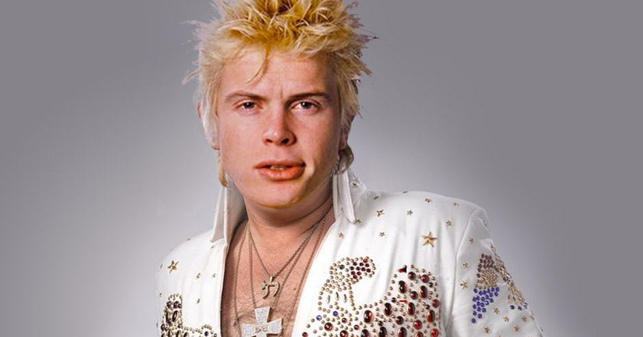 Branson with myself: Billy Idol announces his (inevitable) Las Vegas residency