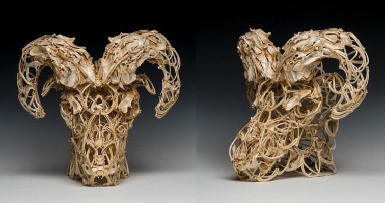 For the discerning Satanist: Demonic sculptures made from bones