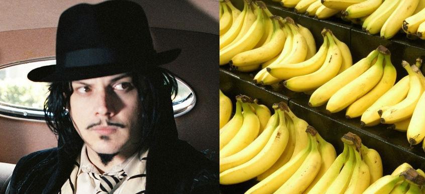 Jack White declares war on bananas