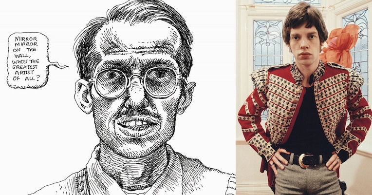'You didn't want to support that guy!' R. Crumb turns down Mick Jagger