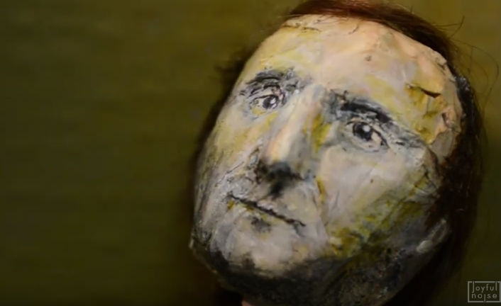 Joan of Arc video recreates Phil Collins' 'In The Air Tonight' clip with stop motion animation