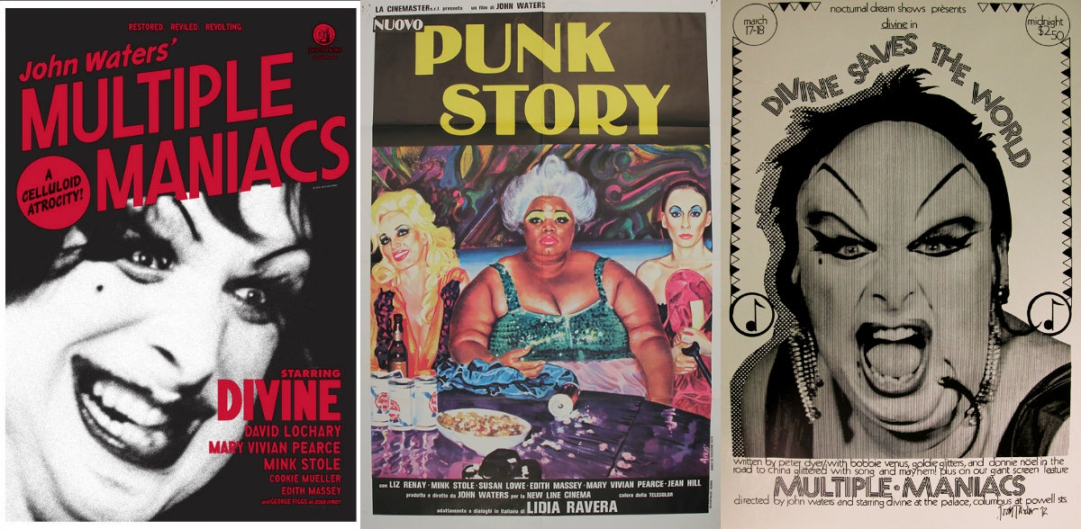 'REAL ACTUAL FILTH!': Finally some John Waters movies in high def
