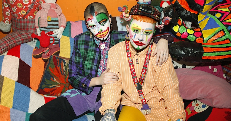 Meet Tuttii Fruittii and Toni Tits, the 'drag clowns' of London
