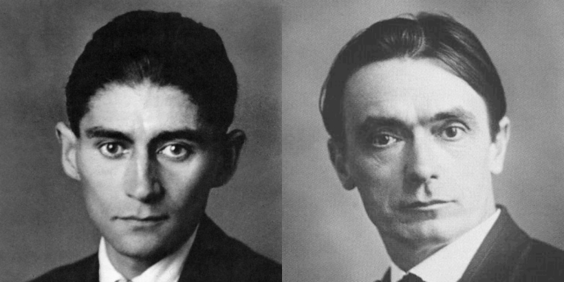 That time Franz Kafka visited Rudolf Steiner to talk about Theosophy