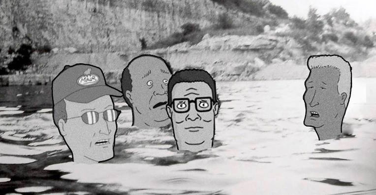 This 'King of the Hill'/'Spiderland' mashup could not be more perfect