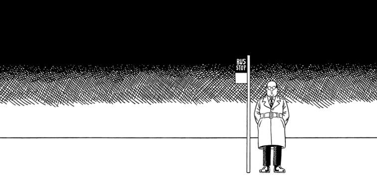 'The Twilight Zone' meets M.C. Escher meets Dali in the philosophical comic strip 'the bus'