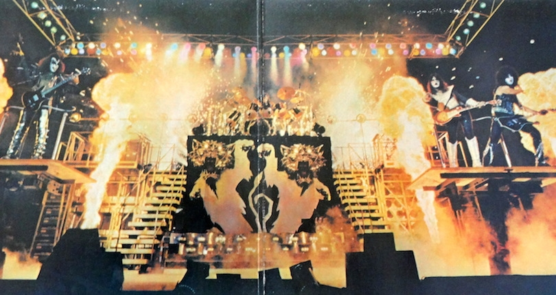 Klassic KISS megapost: KISS annihilate the senses with explosive live versions of 'Firehouse'