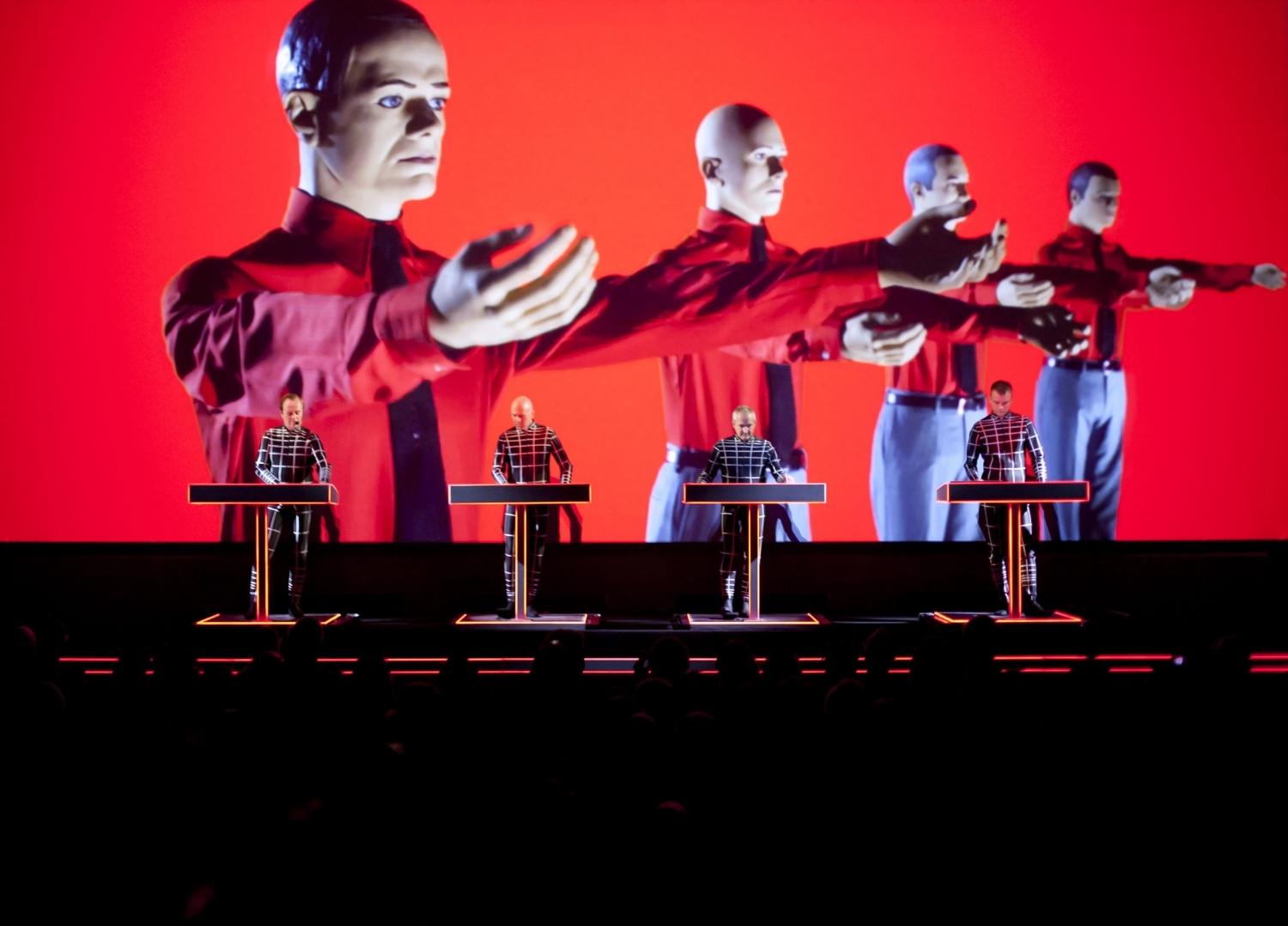 Kraftwerk's leaked 'transport rider' is both detailed and hilarious