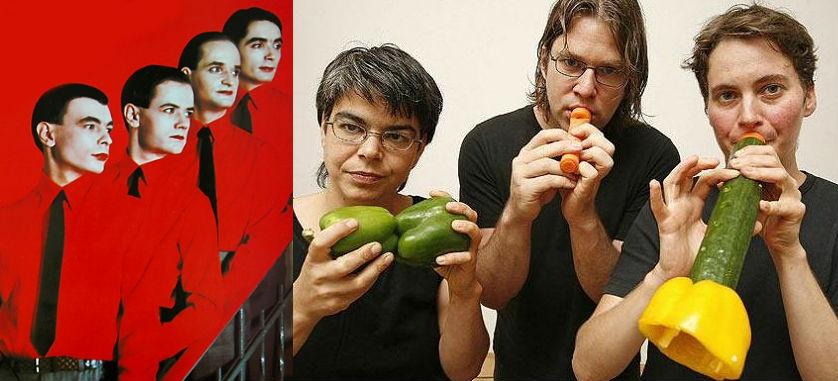 The Vienna Vegetable Orchestra covers Kraftwerk's 'Radio-Activity'