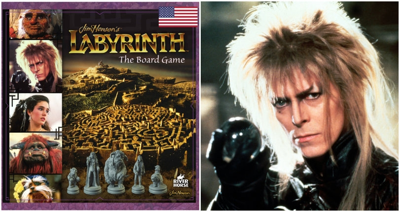 'Labyrinth' becomes a board game, complete with 'Goblin King Jareth' figure!