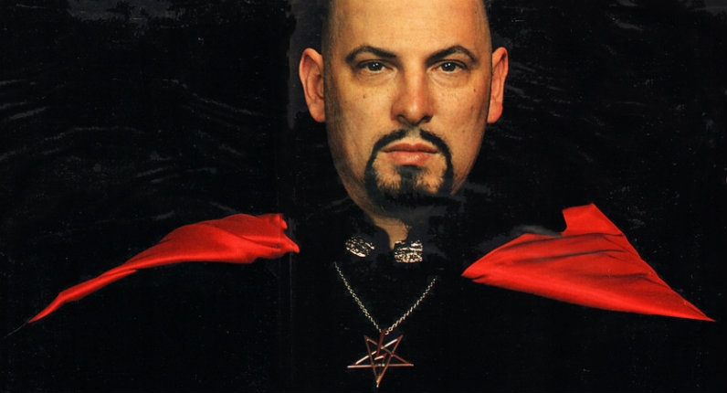 Anton LaVey tree ornaments will help you have the most Satanic Christmas ever!