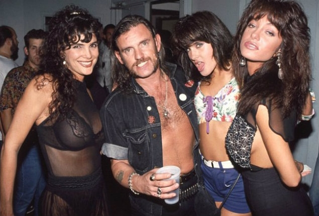 Lemmy Kilmister gets ambushed by three of his ex's on TV in the late 90s