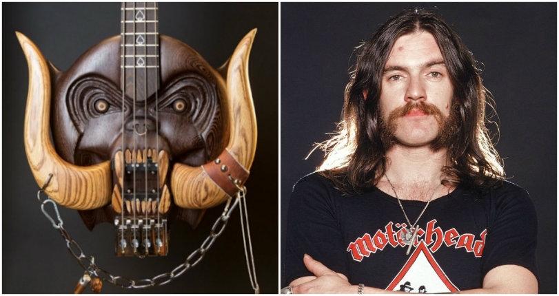 Lemmy Kilmister homaged with sick new custom Motörhead 'Warpig' bass
