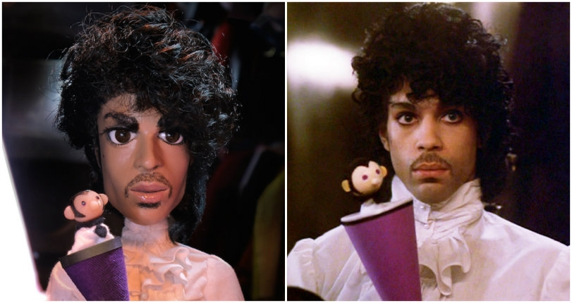 Sexy M*therf*cker: Amazing lifelike Prince doll with custom-made clothing from 'Purple Rain' & more!
