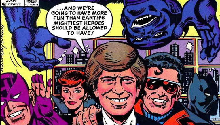 That time all those Avengers appeared on 'Late Night with David Letterman'