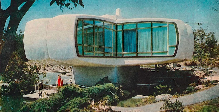 1957's 'House of the Future'—according to Monsanto and Disney