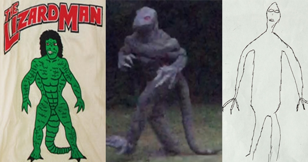 South Carolina woman reports sighting of 'Lizard Man,' captures photo evidence