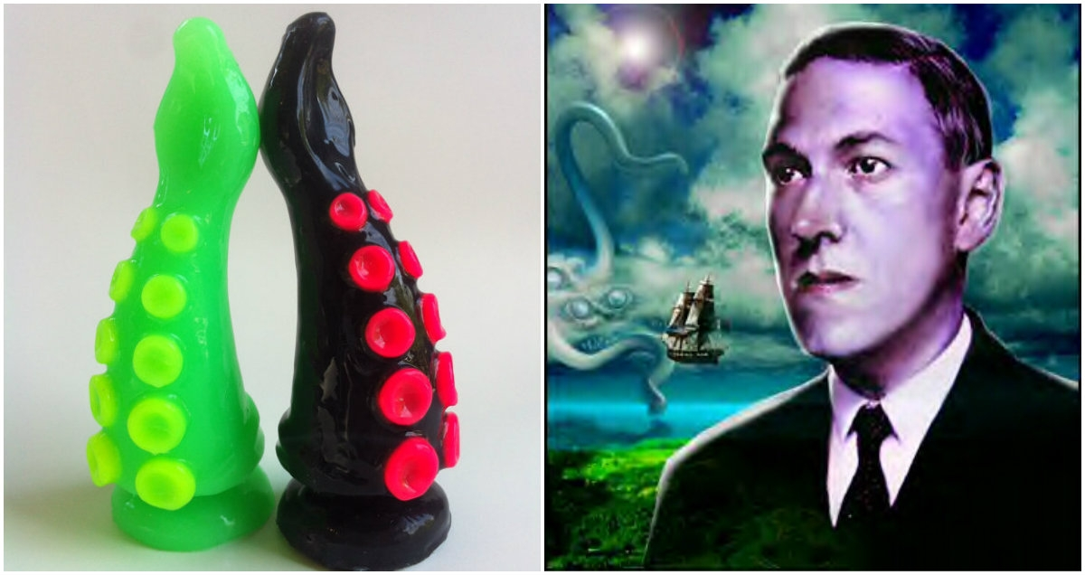 I squid you not: H.P. Lovecraft inspired tentacle dildos are a thing
