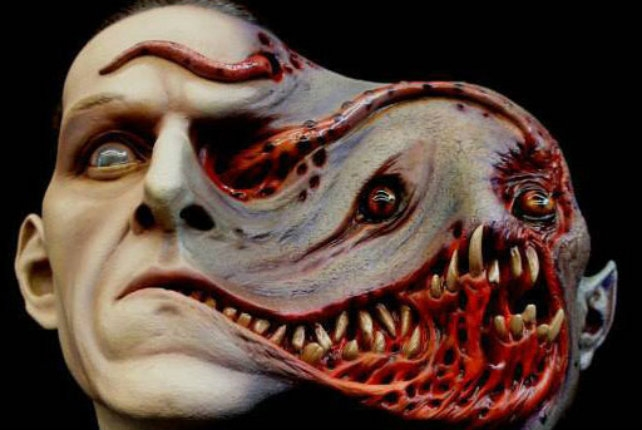 Nightmarish sculptures of H.P. Lovecraft's terrifying cosmic entities