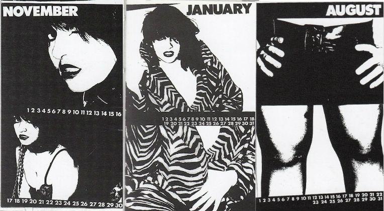Lydia Lunch's sexy 'Fashion Calendar,' 1978