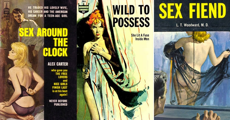 'Sex Around the Clock': The darkly sleazetastic pulp art of R.A. Maguire