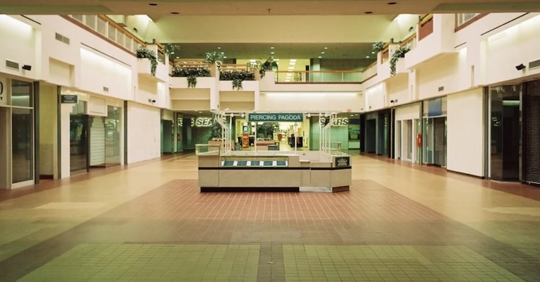 Videos of your favorite pop hits played in abandoned malls are unexpectedly mesmerizing