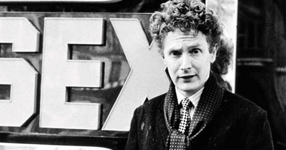 Malcolm McLaren demonstrates how to make subversive trousers
