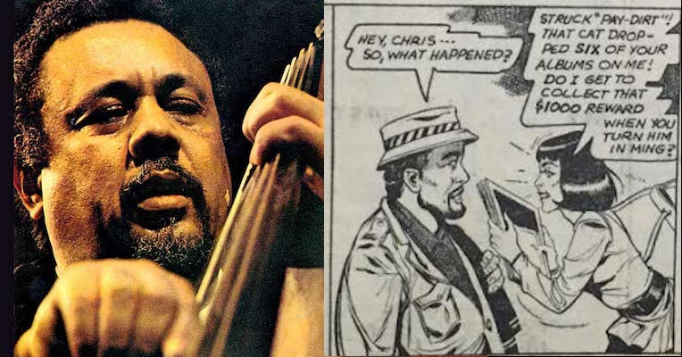 Jazz great Charles Mingus takes on the bootleggers in this amazing self-produced comic strip