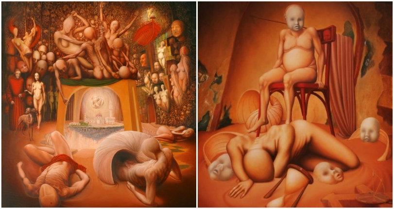 Welcome to Hell: The fantastic faceless figurative art of Vlada Mirković