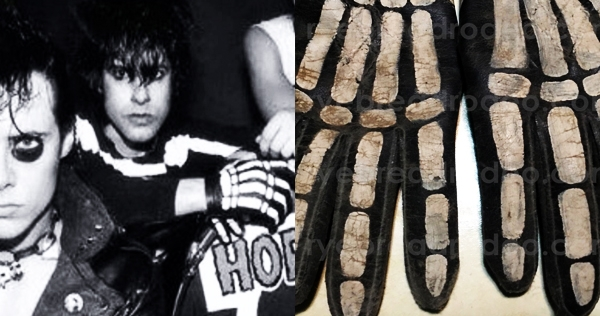 Glenn Danzig's hand-painted Misfits gloves can be yours—opening bid $10K