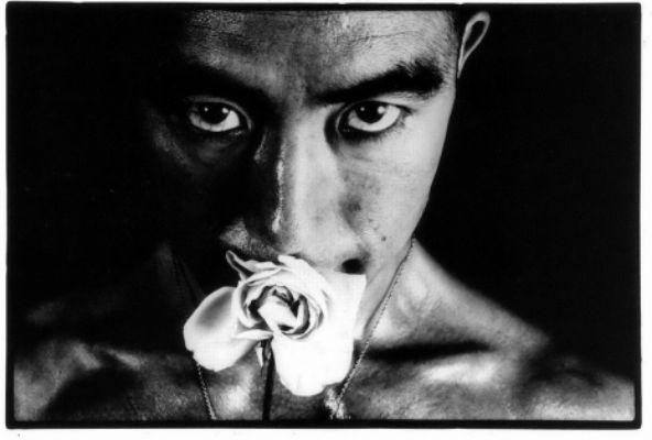 Kinky erotic portraits of Yukio Mishima