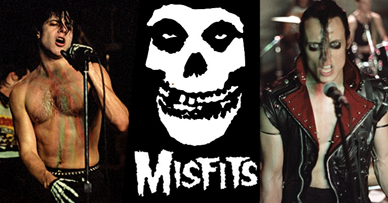 Classic, intimate photos of The Misfits by Eerie Von