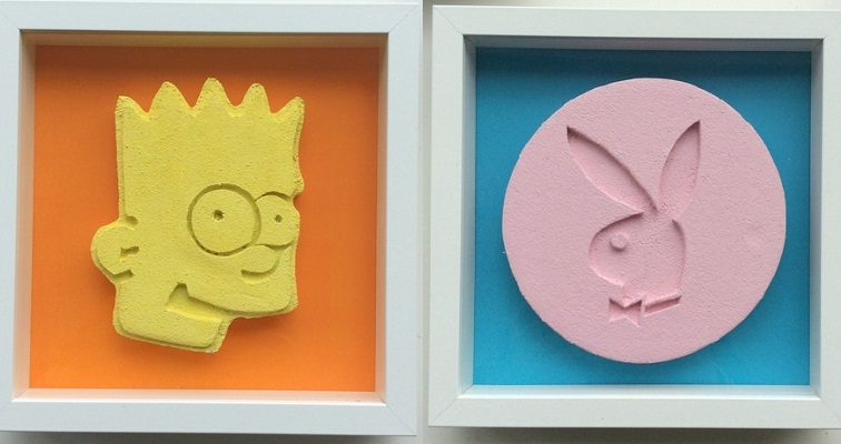 Decorate with drugs: Massive ecstasy pills make for ultra-cool pop art