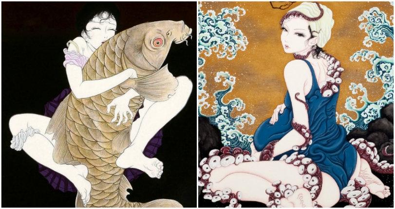 Octopussy: The 'tentacle' erotica of Yuji Moriguchi