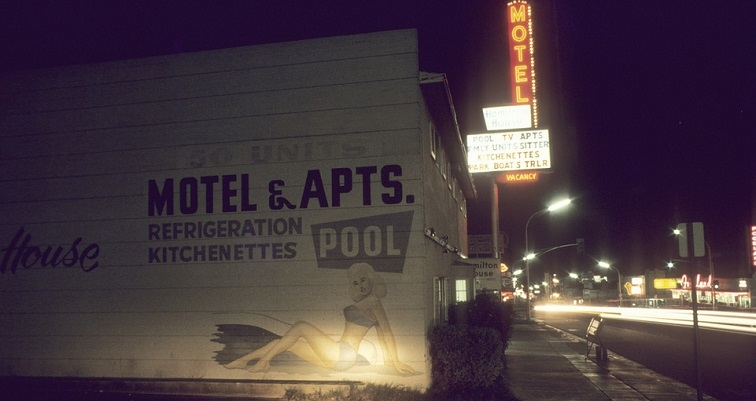 Ultimate Americana: Portraits of sleazy 70's motels