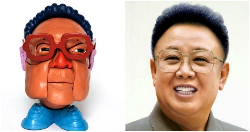 'Mr. Dictator Head': Ruthless political despots reimagined ala 'Mr. Potato Head'