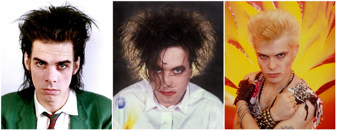 Killing Joke, Nick Cave, The Damned & Billy Idol lip-synching for their lives on 80s television