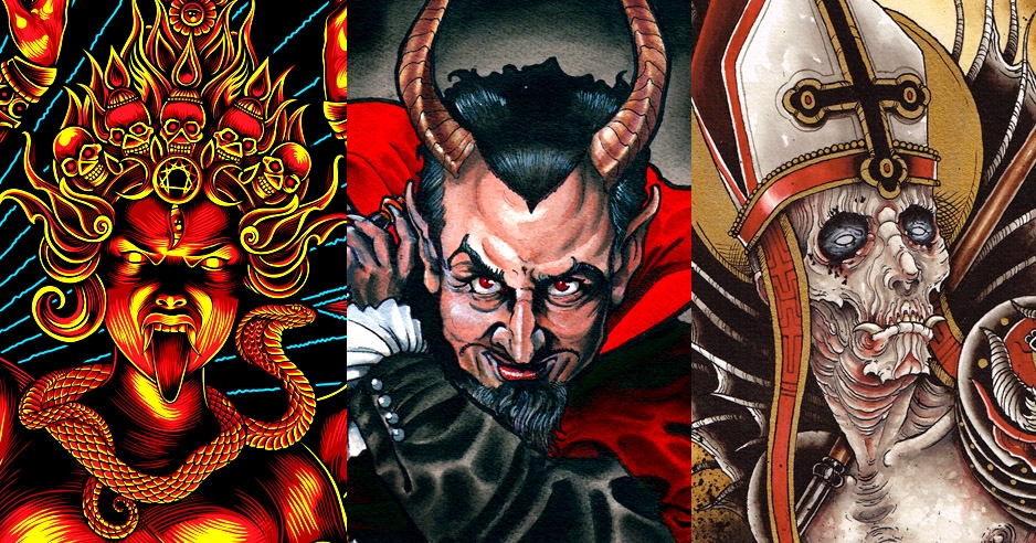 'The Devil's Reign': Demonic art exhibit curated by Church of Satan's High Priest
