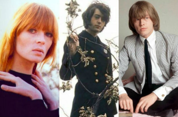 A pre-Velvet Underground Nico's first single with a young Jimmy Page and Brian Jones
